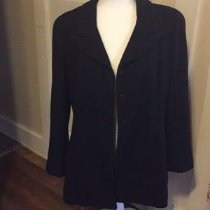 Chanel cruise 2001 wool Jacket navy size 42